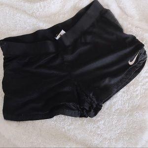 Women's Black Nike Dry Fit Running Shorts